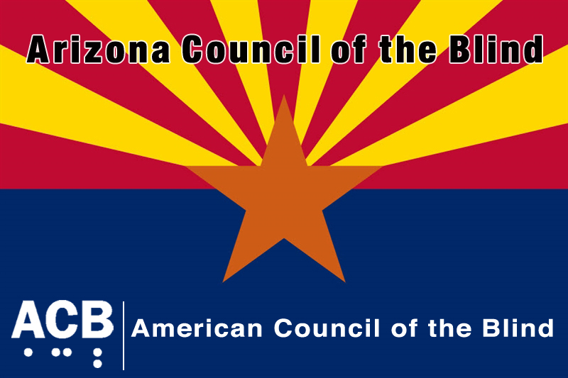 Arizona Council of the Blind logo